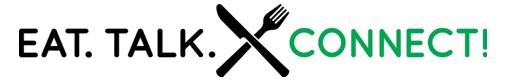 З'їсти. Говорити. Підключення! Логотип